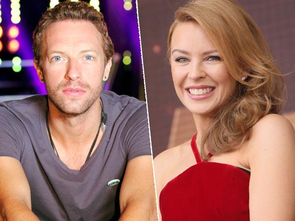 Terlihat Gandengan Tangan, Chris Martin dan Kylie Minogue Pacaran?