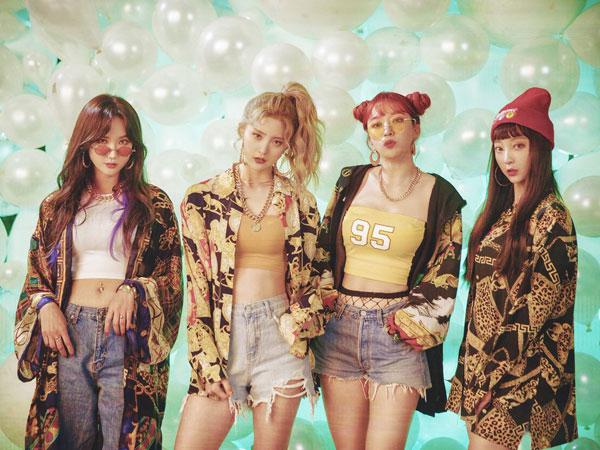 EXID Tampil Funky Usung Gaya Retro 90-an di MV Comeback 'Lady'