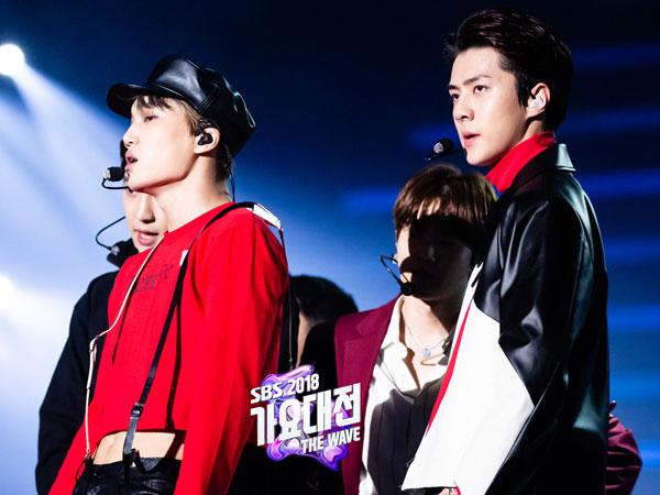 Fans EXO Dikritik karena Langgar Aturan di SBS Gayo Daejun 2018, Ternyata Ini Alasannya!