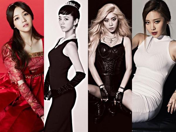 Girl's Day Bertransformasi Jadi Empat Sosok Legendaris di Teaser Comebacknya