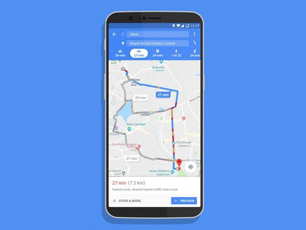 Rilis Rute Khusus Motor, Google Maps Kini Tampilkan Jalan-jalan Sempit