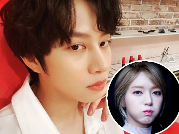 Heechul Luapkan Kekesalan Disebut  'Mak Comblang' Terkait Rumor Pacaran Choa AOA