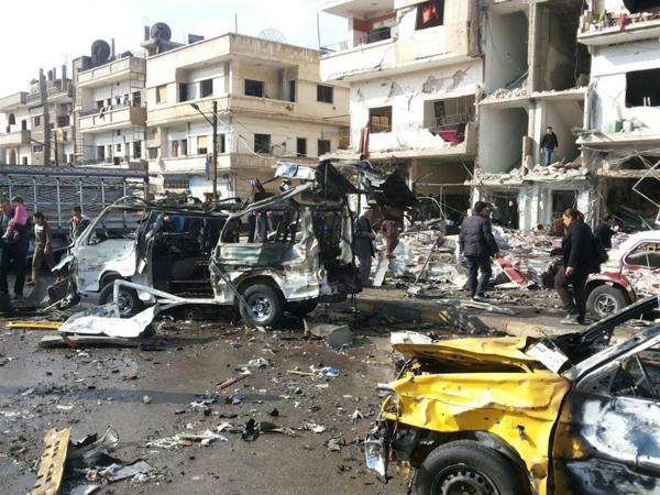 Bom Bunuh Diri Kembali Terjadi di Suriah, Tewaskan 100 Orang Lebih