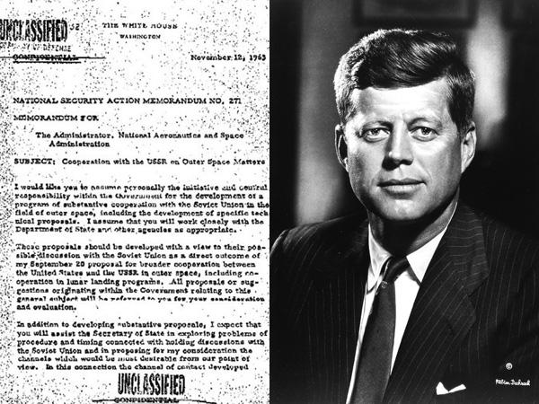 Surat Ini Buktikan Mantan Presiden AS John F. Kennedy Mati Dibunuh CIA Karena UFO?