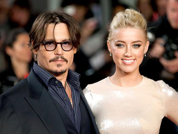 Proses Cerai, Johnny Depp Aniaya Amber Heard Hingga Memar