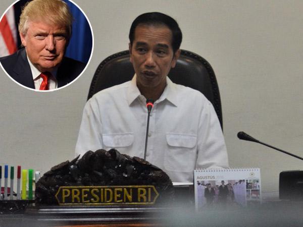 Kemenangan Donald Trump Timbulkan Pro-Kontra, Ini Tanggapan Presiden Jokowi Soal Hubungan Indo-AS
