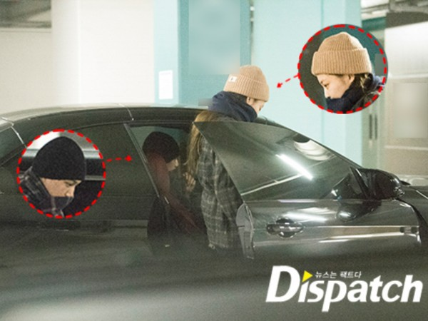 Surprise! Dispatch Rilis Foto Kencan Kai EXO dan Jennie BLACKPINK