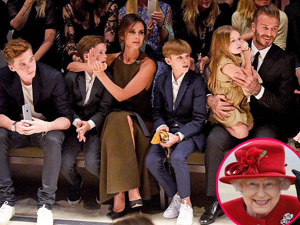 Kekayaan Keluarga Beckham Melebihi Ratu Elizabeth II, Berapa Jumlahnya?