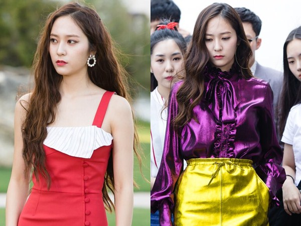Penampilan Stylish nan Mahal Krystal f(x) di Dua Episode 'Bride of the Water God'