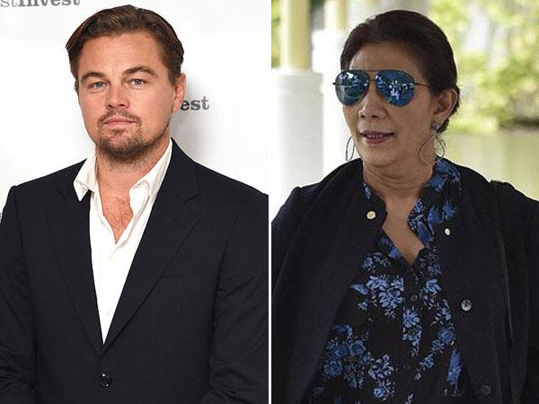 Aktor Leonardo DiCaprio Puji Habis Kebijakan Menteri Susi yang Dibutuhkan Dunia