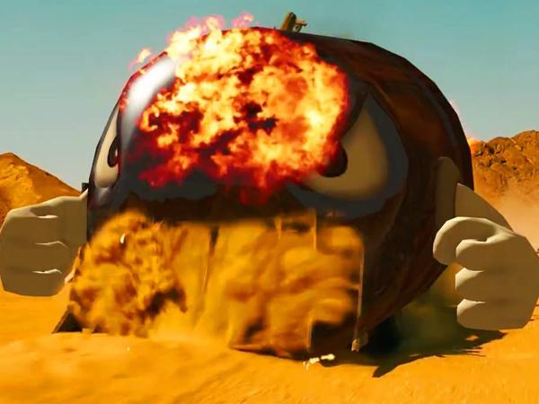 Ini Jadinya Jika Balapan 'Mad Max' Dilakukan Oleh Mario Kart!