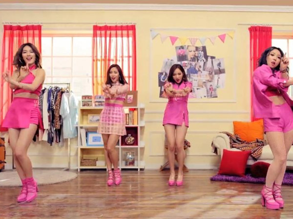 Miss A Tampil Flirty dan Sexy di Video Musik 'Only You'