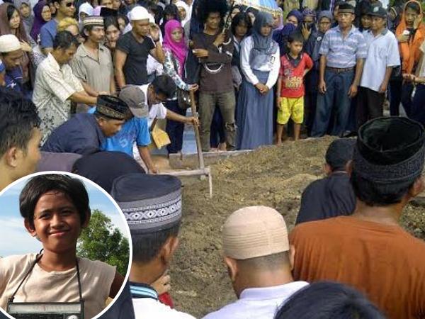 Pemain Laskar Pelangi Turut Hadiri Pemakaman Verrys 'Mahar' di Belitung
