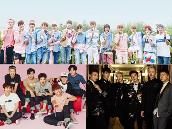 Diambil dari Penelitian, Inilah Peringkat Popularitas Sederet Grup Idola K-pop di Bulan September!