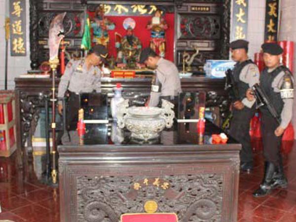 Pengamanan Imlek, 3.320 Polisi Jaga 279 Klenteng