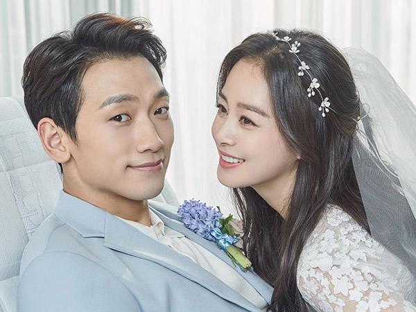 Rain Buru-buru Klarifikasi Rumor Kim Tae Hee Hamil Anak Ketiga
