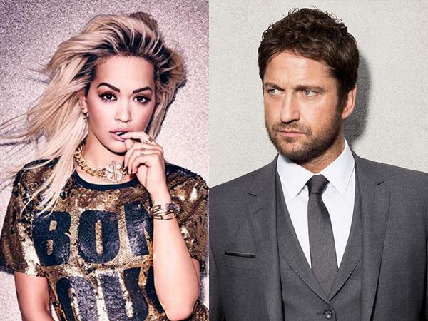 Beda 21 Tahun, Rita Ora Diam-diam Kencan Romantis dengan Gerard Butler