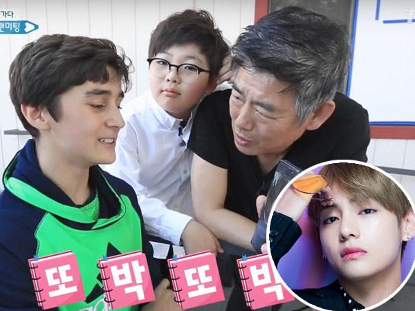 Baiknya, Aktor Sung Dong Il Beri Kesempatan Fanboy 'Bertemu' dengan V BTS