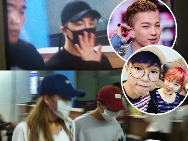 Datang Bersamaan, Taeyang dan Akdong Musician Disambut Tertib Fans di Bandara Soekarno Hatta!