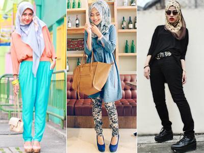 Padu Padan Hijab Motif Untuk Berbagai Gaya