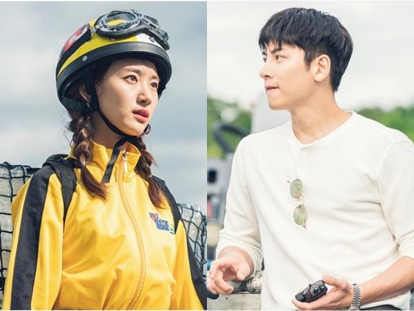 Chemistry Ji Chang Wook dan Woo Jin Ah Dalam Poster 'Melting Me Softly'