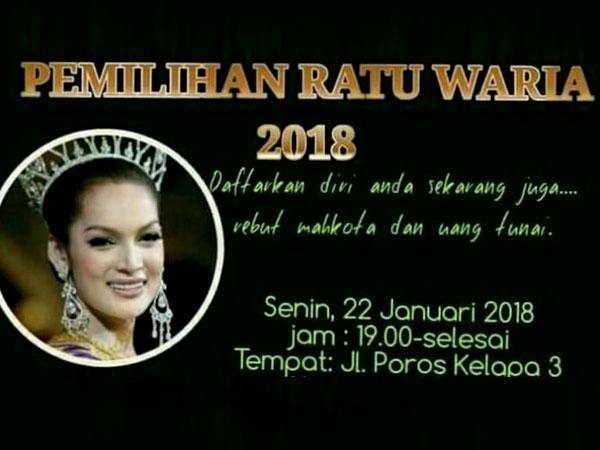 Viral, Heboh Ada Pemilihan Ratu Waria Digelar di Makassar!
