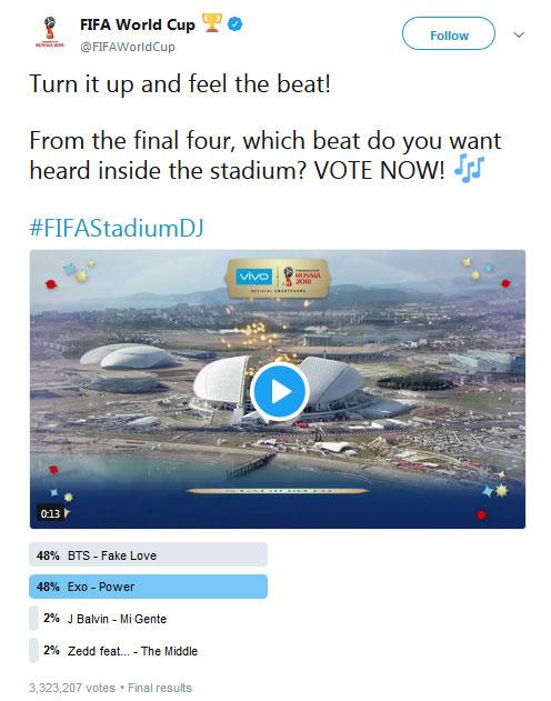 Sengitnya Polling FIFA 'BTS VS EXO', Lagu Siapa yang Akan ...
