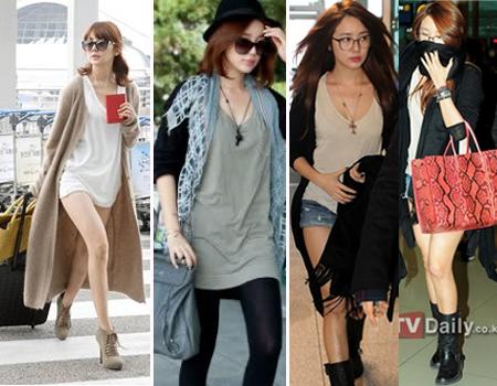 Siapa Airport Fashion Seleb Korea Terkeren