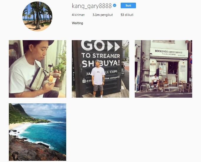 kang gary instagram