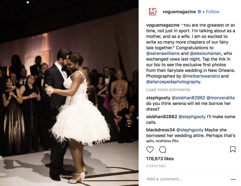 Tengok 3 Gaun Pernikahan Ratu Tenis Serena Williams Yang Sangat Menawan Alexis Mengusung Dekorasi Bertemakan Beauty And The Beast Ballroom Dirancang Sedemikian Rupa Seperti Halnya Ketika