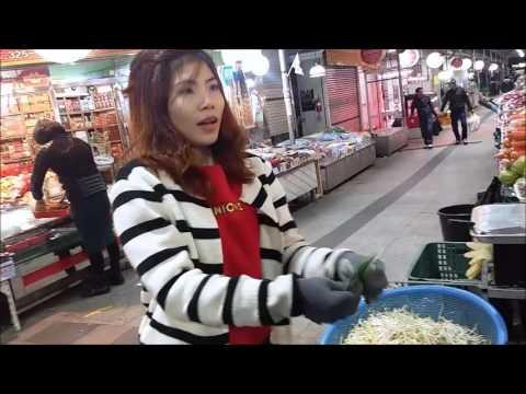 Unik! Gadis Penjual Sayur di Korea Fasih Berbahasa Jawa