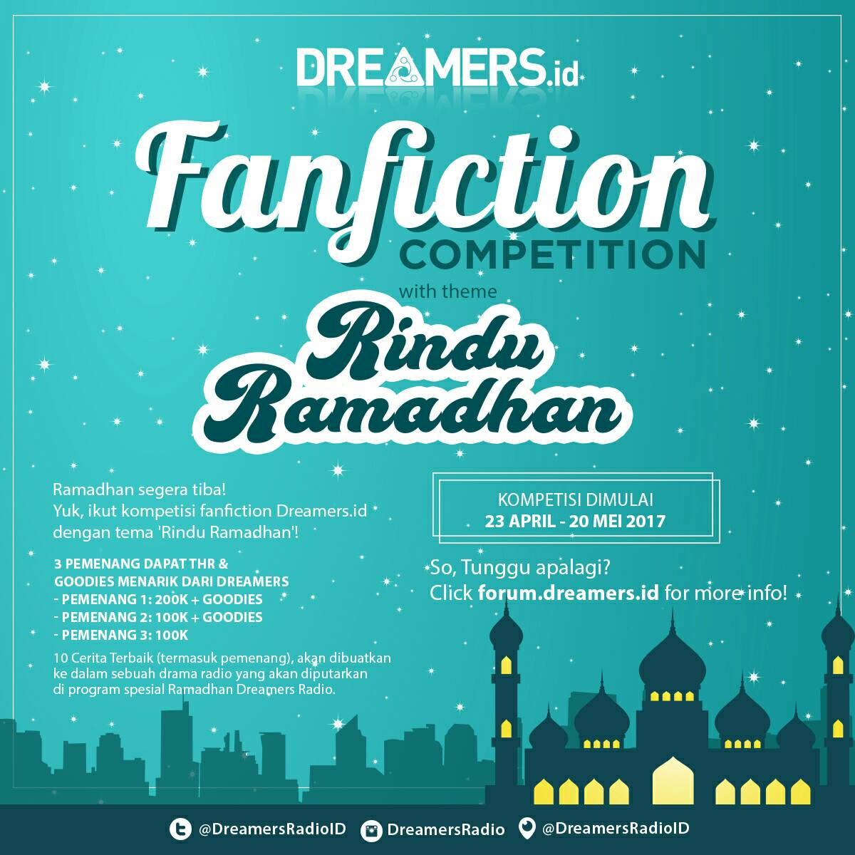Kompetisi Fanfiction Spesial Ramadhan