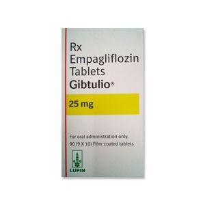 Gibtulio 25 mg Price | Empagliflozin Tablet Beli Online dari India