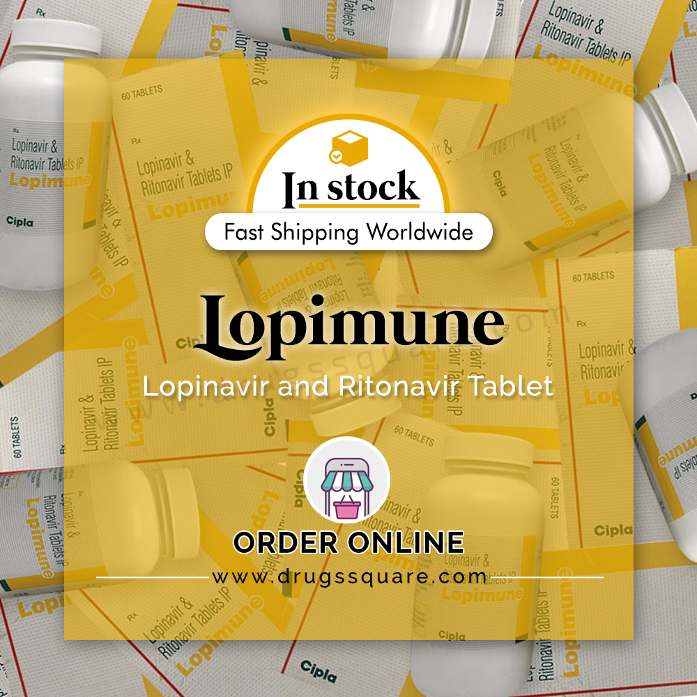 Lopimune Tablet Price - Lopinavir dan Ritonavir Generik Beli Online dari India