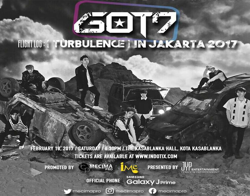 [ANNOUNCEMENT] Pemenang TIKET FANMEETING GOT7 di JAKARTA