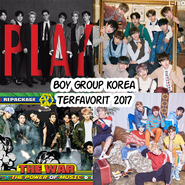 [Kaleidoscope 2017] Yuk Vote Boy Grup K-Pop Terfavorit 2017 Periode 10 Desember - 24 Desember 2017!