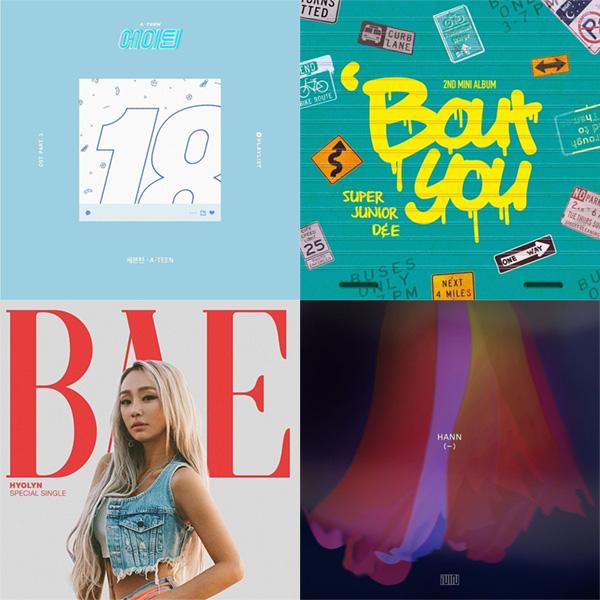 [VOTE] Yuk Vote Juara K-CHART DREAMERS RADIO Periode 18 - 24 Agustus 2018