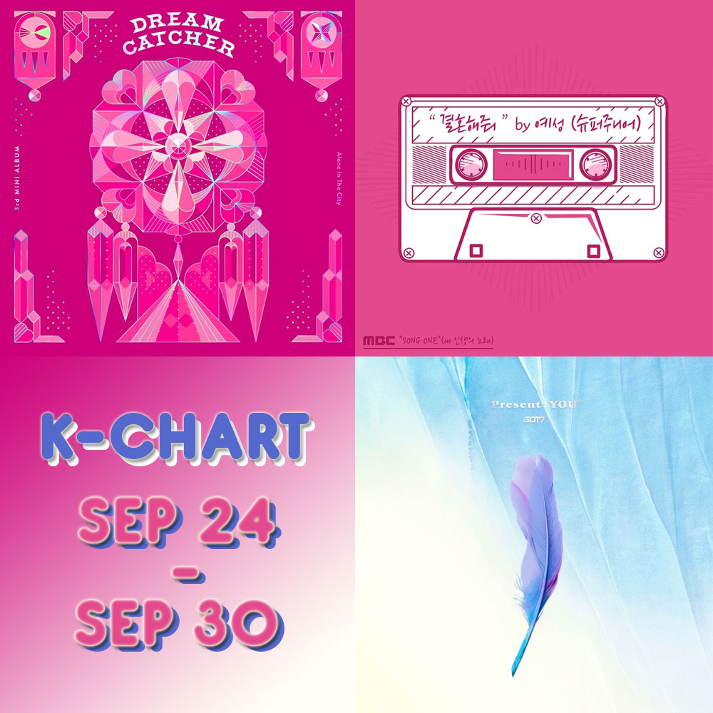[VOTE] Yuk Vote Juara K-CHART DREAMERS RADIO Periode 24 - 30 September 2018