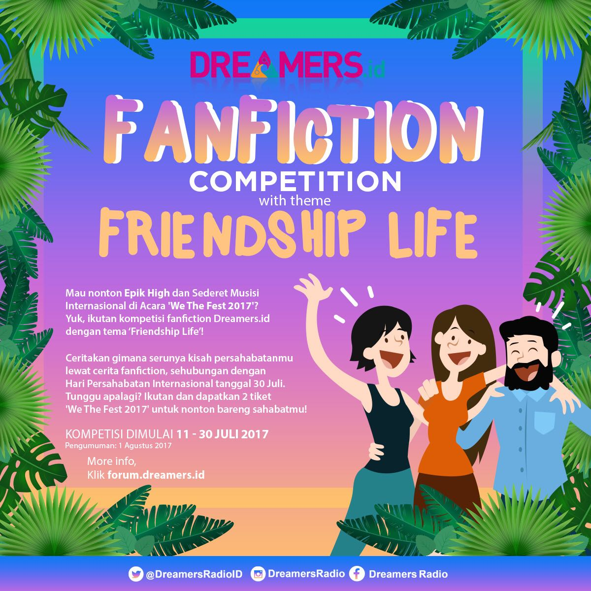 [Competition] Fanfiction of 'Friendship's Life'