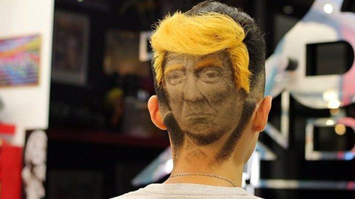 Salon Ini Tawarkan Model Rambut Sesuai Kemauan Pelanggan, Mau Ala Donald Trump atau Annabelle, Bisa!