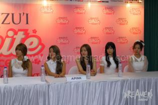 Press Conference SHINZU'I White Concert 2014