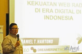 DreamersRadio.Com at Indonesia Broadcasting Expo 2014, Bandung