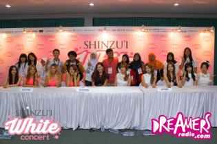 Meet N Greet with A Pink, Sistar & Soomin SHINZU'I White Concert 2014